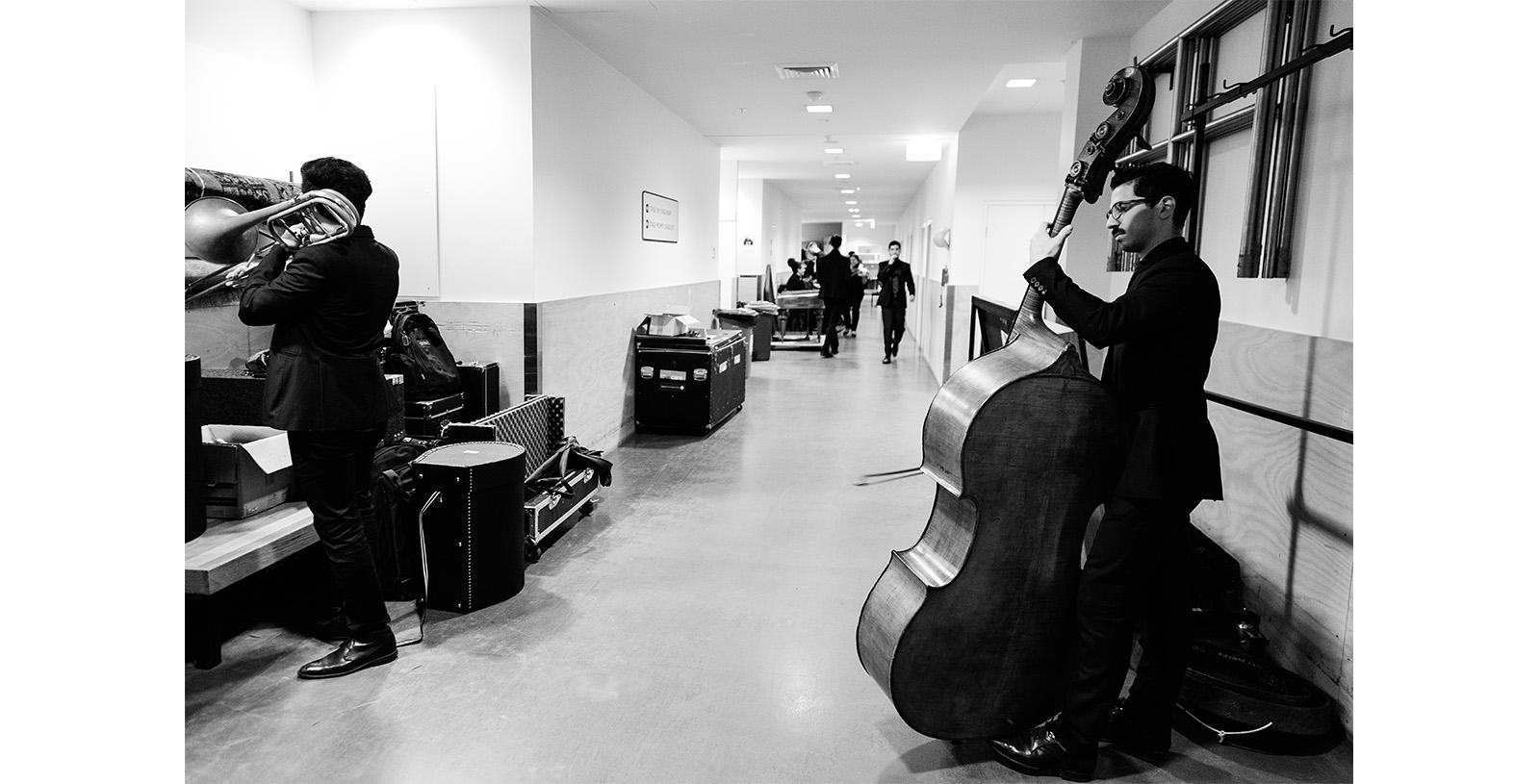 2018 Backstage at Melbourne Recital Centre - Photo by Pia Johnson
