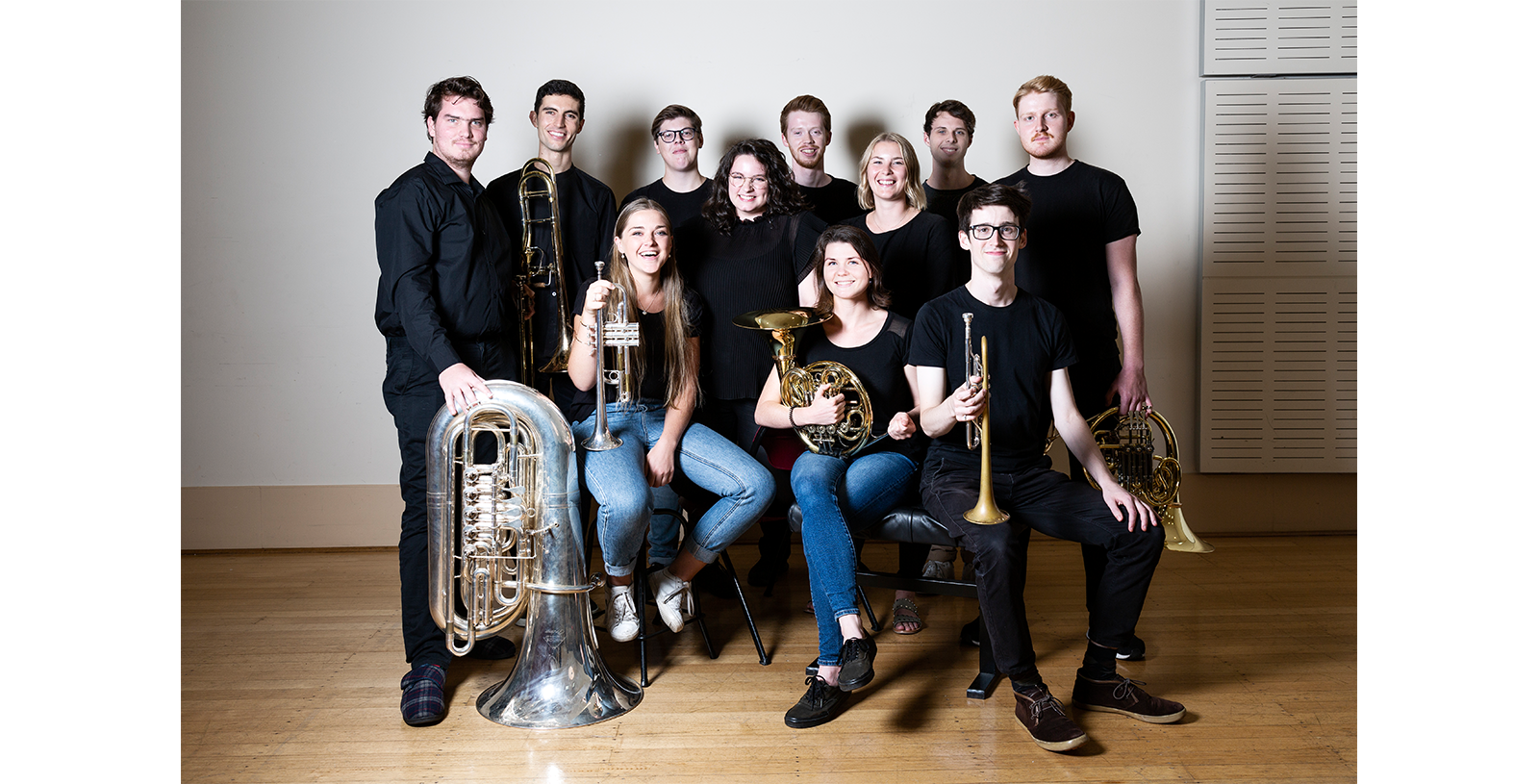 2020 Brass Musicians - Photo by Pia Johnson