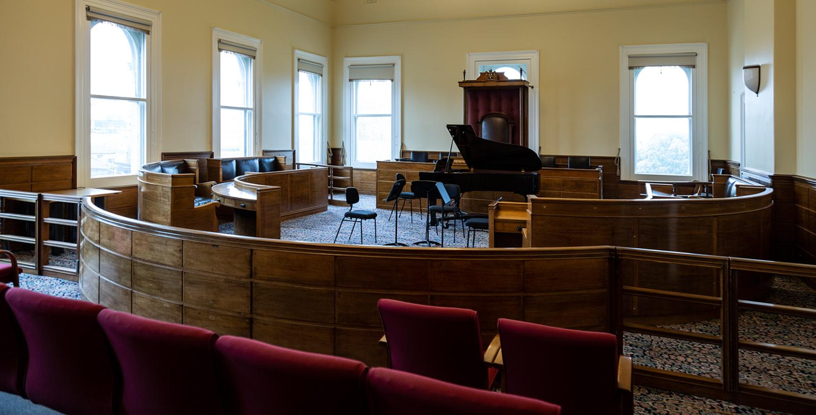 Council Chamber - Photo by Pia Johnson