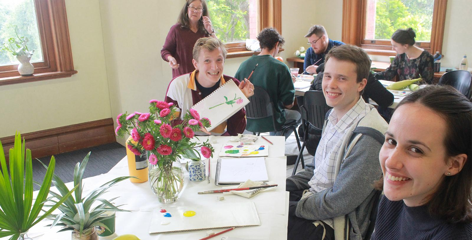 Special activity – Meeting the Convent's Artists 1